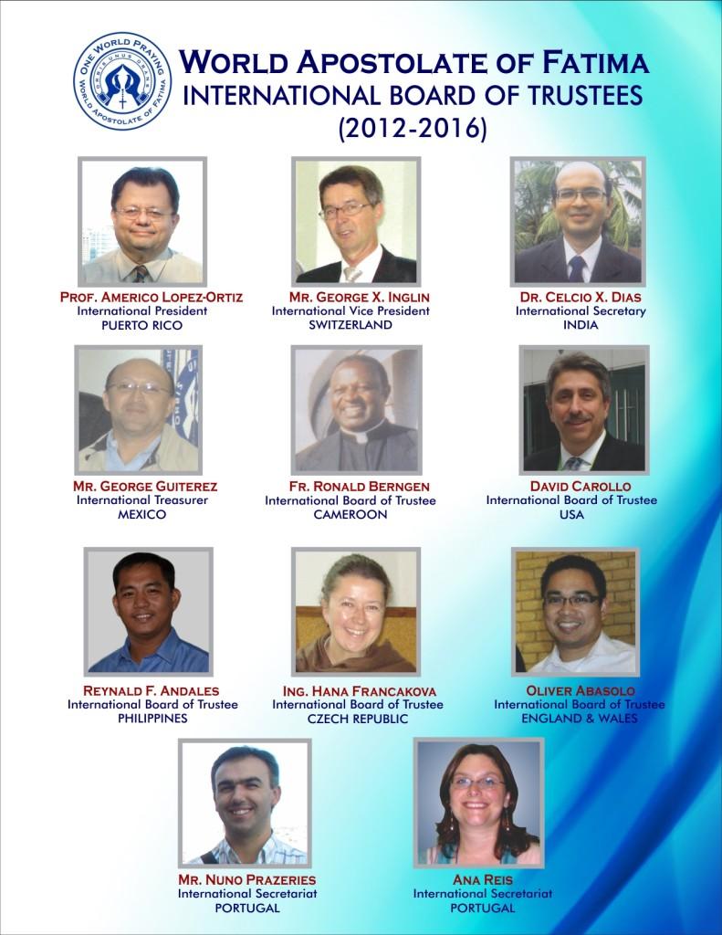 WAF Int'l Board of Trustees